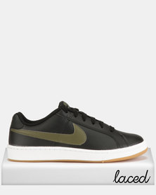 Nike Court Royale Sneakers Black/Olive Canvas/Gum