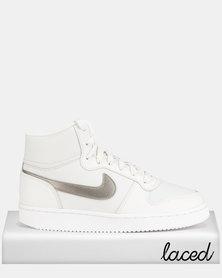 Nike Ebernon Mid Sneakers Platinum Tint/White