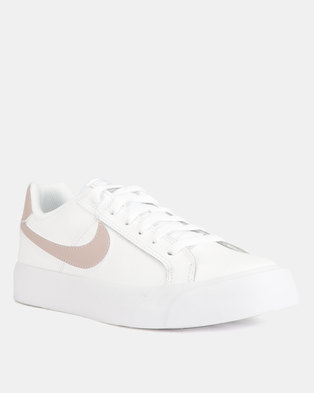 Nike Court Royale Sneakers White Particle Rose 44c8883a9