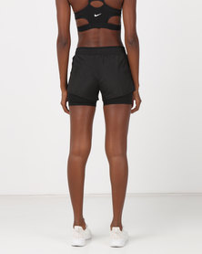Nike Performance W 10K 2IN1 Shorts Black