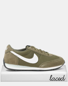 Nike Oceania Textile Sneakers Olive Canvas