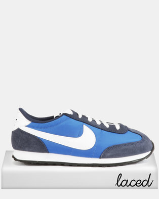 c182c3436a27 Nike Mach Runner Game Sneakers Royal White-Midnight Navy Black