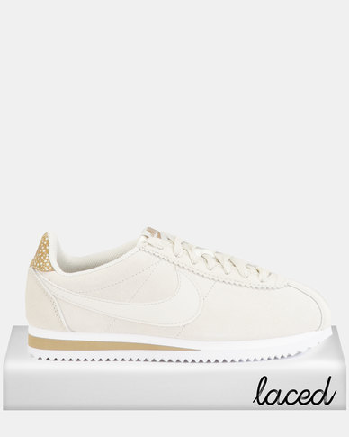 Nike Classic Cortez Prem Sneakers Bone/Light Bone/Canteen