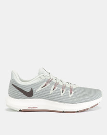 Nike Performance Quest Running Shoes Silver/Grey/Teal