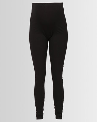 Hannah Grace Over the belly Tights Black Small