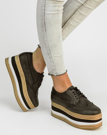 Jeffrey Campbell Ad Long Platforms Black Wash