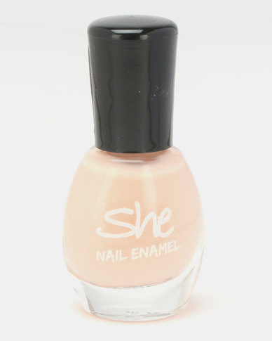 She Cosmetics and Fragrances Make Up Nail Enamel 107 Nude