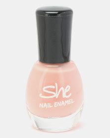 She Cosmetics and Fragrances Make Up Nail Enamel 108 Orange
