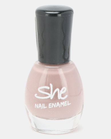 She Cosmetics and Fragrances She Make Up Nail Enamel 311 Grey