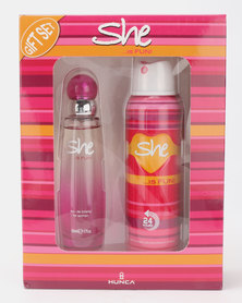 She Cosmetics and Fragrances She Is Fun Carton Gift Set