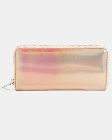 Lily & Rose Metallic Wallet Gold