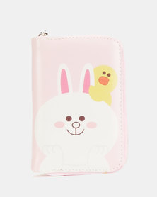 Lily & Rose Bunny And Chick Wallet Pink
