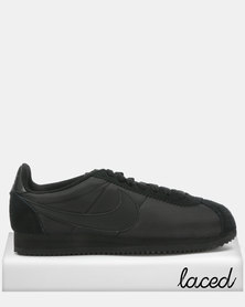 Nike Classic Cortez Nylon Sneakers Black/Anthracite
