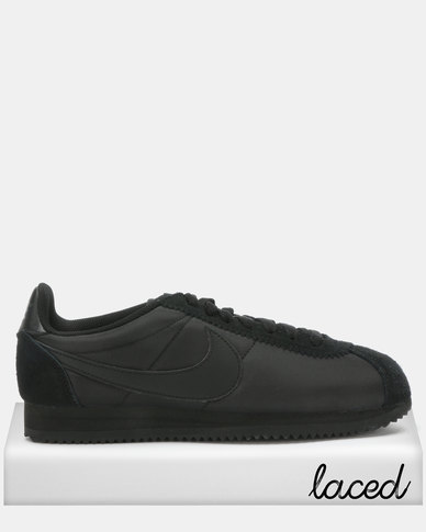 watch f887c 5be64 Nike Classic Cortez Nylon Sneakers Black/Anthracite