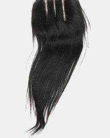 "Roots Hair Closure 360, 12"" Black"