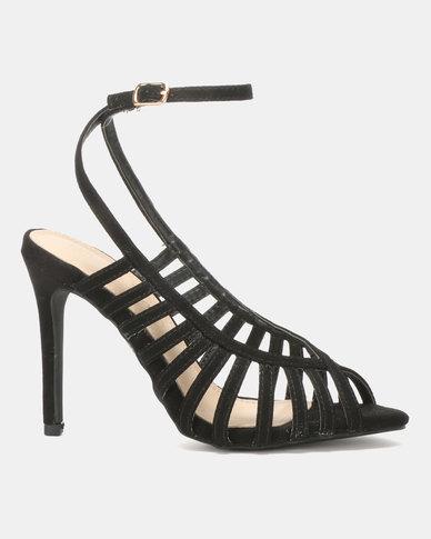 Miss Black Audrey Heels Black