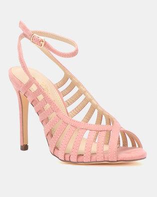 08af499f0 Miss Black Audrey Heels Pink