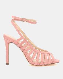 Miss Black Audrey Heels Pink