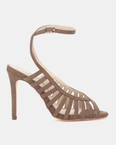 Miss Black Audrey Heels Taupe