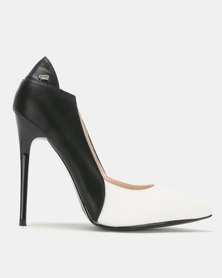 Miss Black Carida Heel Courts Black