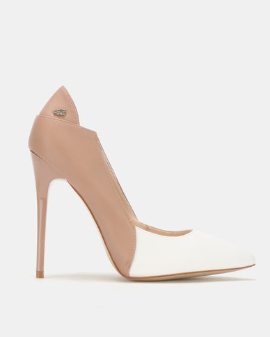 Miss Black Carida Heel Courts Pink