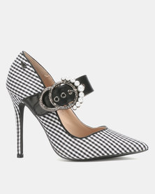 Miss Black Karabo Heel Courts Black