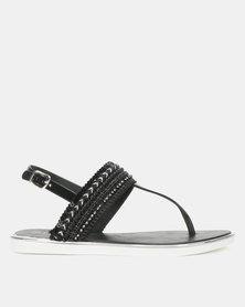 Miss Black Bruella Sandals Black