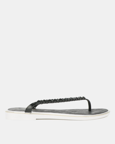 Miss Black Catherine Sandals Black