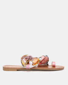 Miss Black Kalie Sandals Pink