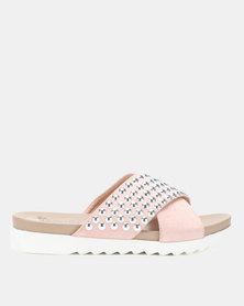 Butterfly Feet Rene Sandals Pink