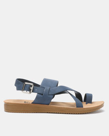 Butterfly Feet Debbie Sandals Navy