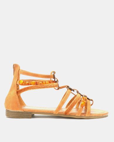 Butterfly Feet Hana Sandals Tan