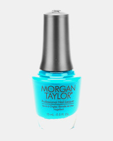 Morgan Taylor Nail Lacquer Feeling Swim-Sical