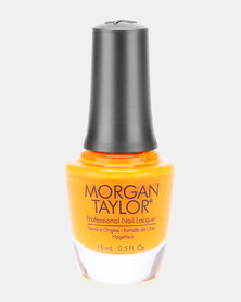 Morgan Taylor Nail Lacquer You've Got Tan-Gerine Lines