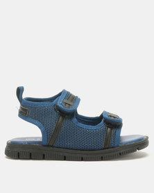 Rock & Co Shanyu Velcro Sandals Blue