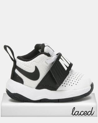 76640ed185bc8d Nike Team Hustle D 8 Sneakers White Black