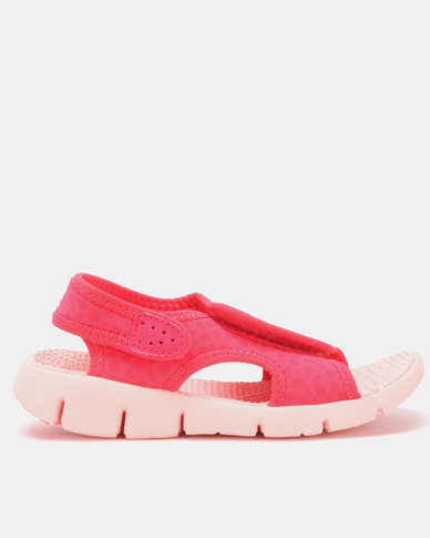 bbeb04691ac2 Nike Kids Sunray Adjust 4 Sandals Pink