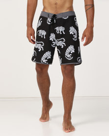 Hurley Phantom Tiger 18in Boardshorts Black