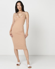 Hurley Reversible Fitted Dress Particle Rose