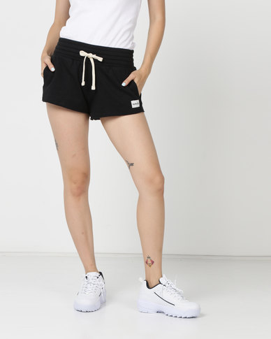Hurley One & Only Fleece Shorts Black