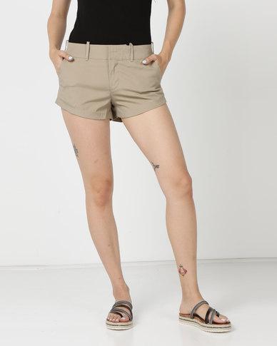 Hurley Lowrider Chino Walk Shorts Khaki