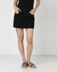 Hurley Wilson Skirt Black