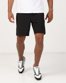 Hurley Alpha Trainer 2.0 Walk Shorts Black