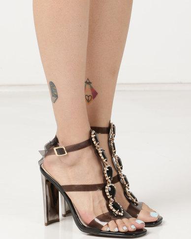 4eca900372 Dolce Vita Cinderella Embellished Heels Black | Zando