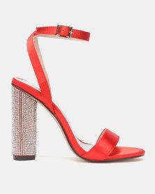 Dolce Vita Rouge Circular Heels Red