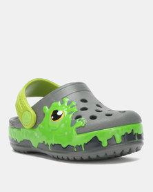 Crocs Fun Lab Slime Band Clog Kids TTl Pink  2a4a8f20548