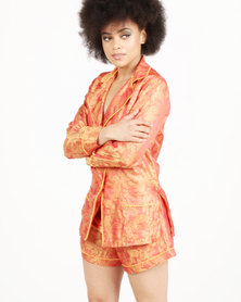 Papushka Amelia Sleepwear Orange