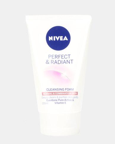 Nivea Perfect & Radiant Foam Wash Normal & Combination Skin 100ml