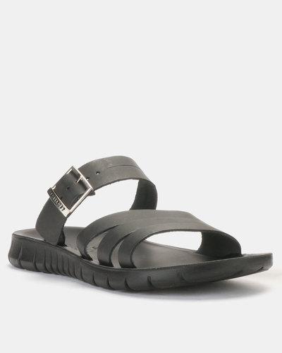 newest 05337 8de8a adidas Originals Adilette Shower Slides Black White   Zando