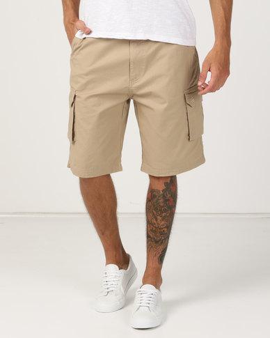 Hi-Tec Bandit Cargo Shorts Khaki